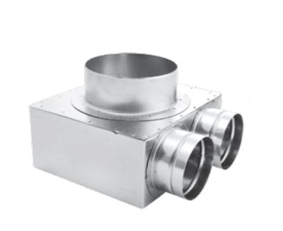 Plenum Boxes - Flexi Ducts and Accessories - By Recoveryvent